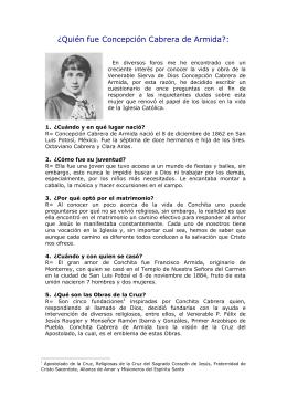 ¿Quién fue Concepción Cabrera de Armida?