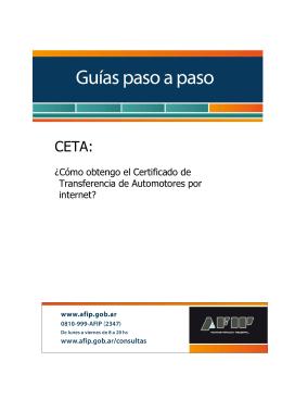 CETA - Afip