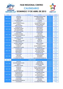 2015_Resultados Fase Centro