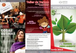 AGENDA JUNIO 2015 2