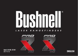 ENGLISH - Bushnell Golf