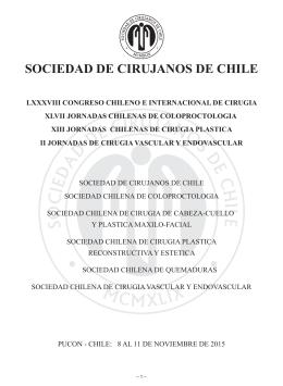 programa definitivo - Sociedad de Cirujanos de Chile