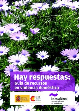 Guía de recursos en violencia doméstica