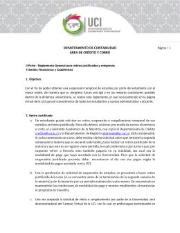 DEPARTAMENTO DE CONTABILIDAD ÁREA DE CRÉDITO Y COBRO