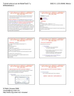 Tutorial sobre el uso de ModelTest3.7 y MrModeltest2.2