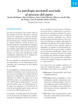 La patología neonatal asociada al proceso del parto