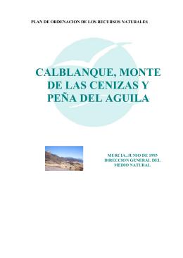 CALBLANQUE, MONTE DE LAS CENIZAS Y PEÑA DEL AGUILA