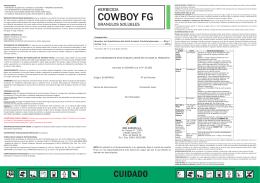 COWBOY FG - Red surcos