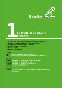 1. el modelo de radio español