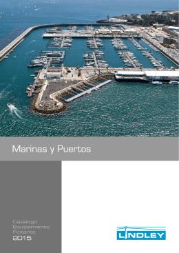 equipamiento flotante para marinas y puertos deportivos