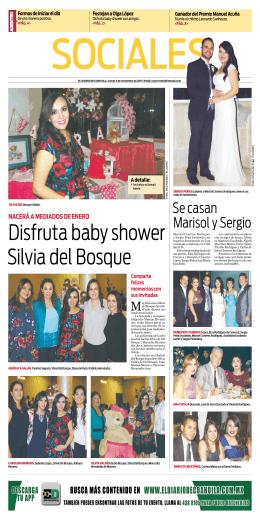 Disfruta baby shower Silvia del Bosque