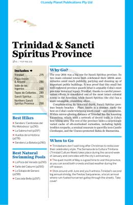 Trinidad & Sancti Spíritus Province
