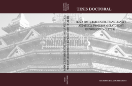 tesis doctoral - Instituto de Migraciones