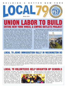 union labor to build - Construction & General Building Laborers