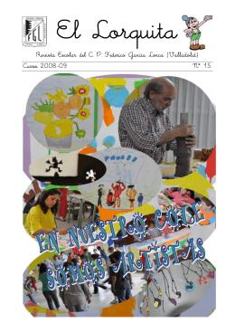 Revista Escolar del C. P. Federico García Lorca (Valladolid) Curso