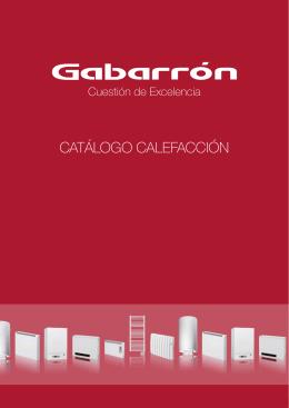 CATÁLOGO CALEFACCIÓN