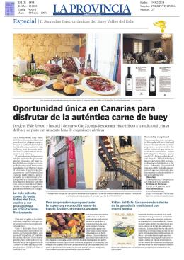 Oportunidad única en Canarias para disfrutar de la