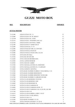 GUZZI MOTO BOX
