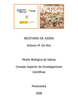 FABADA DE MARISCO - Asociación Española de Leguminosas