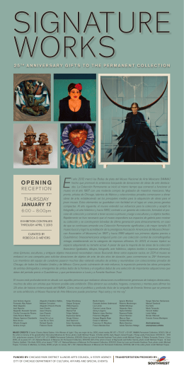 OPENING - National Museum of Mexican Art