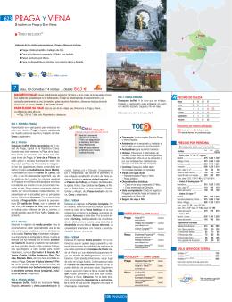 PRAGA Y VIENA - Panavisión Tours