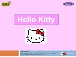 Hello Kitty - caffaro hnos.