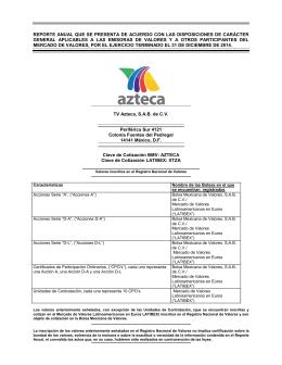 TV Azteca - 2014 Descargar