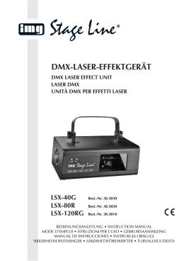 DMX-LASER-EFFEKTGERÄT