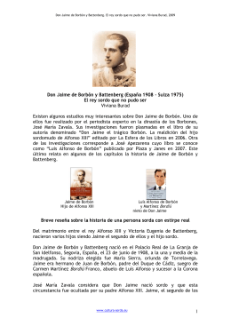 1 Don Jaime de Borbón y Battenberg (España 1908