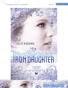 THE IRON DAUHGTER – JULIE KAWAGA FORO