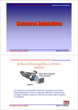 Sensores Inductivos - Facultad de Ciencias