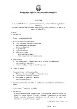 ANEXO PAS y GABS - Resolución 1741 mayo 2013