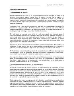Diseño de Programas - Prof. Álvaro Guadiana