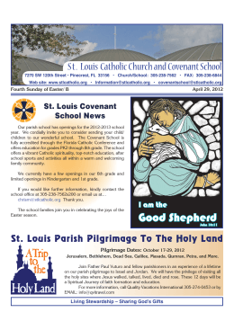 Good Shepherd - St. Louis Catholic Church