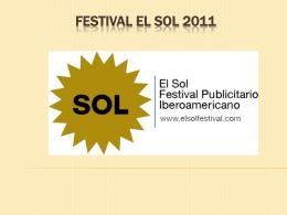 Festival El sol 2011