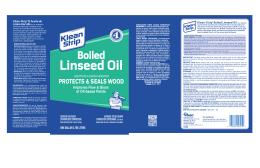 Klean-Strip® Boiled Linseed Oil