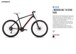 "MX 26 30. ¡""MOUNTAIN-BIKE"" EN ESTADO PURO!"