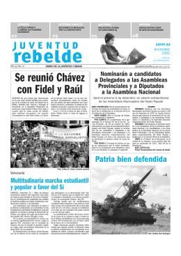 Se reunió Chávez con Fidel y Raúl »4
