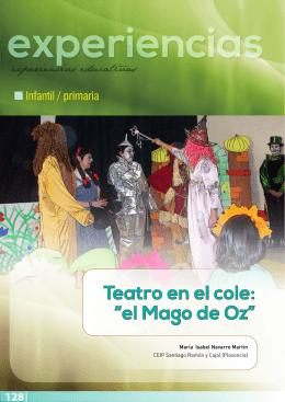 """Teatro en el cole: """"el Mago de Oz"""""""