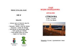 CÓRDOBA - Ayuntamiento de Lucainena de las Torres