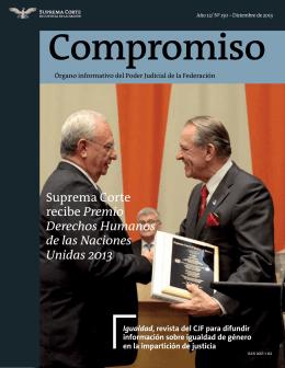 Gaceta201312 - Suprema Corte de Justicia de la Nación