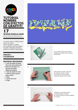 tutorial NoMbre CoN eFeCtos De GraFFiti