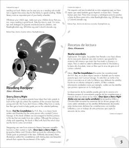 Reading Recipes© Recetas de lectura