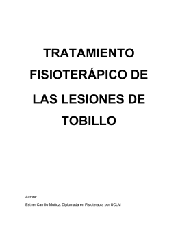 TRATAMIENTO FISIOTERÁPICO DE LAS
