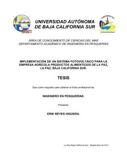 Biblioteca Central UABCS - Universidad Autónoma de Baja
