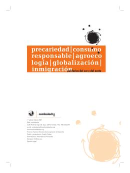 1ª edición Marzo 2007 Edita: cambalache Calle Martínez