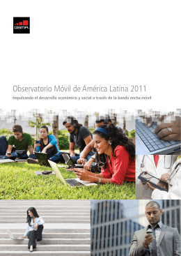 Observatorio Móvil de América Latina 2011