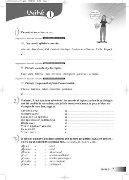 Unité 1 - Didier