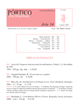 Portico Semanal 692 - Arte 34