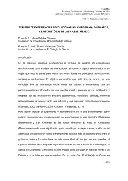 623 TURISMO DE EXPERIENCIAS REVOLUCIONARIAS